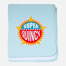 Super Quincy baby blanket