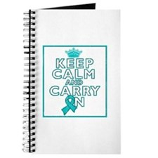 PCOS Keep Calm Carry On Journal