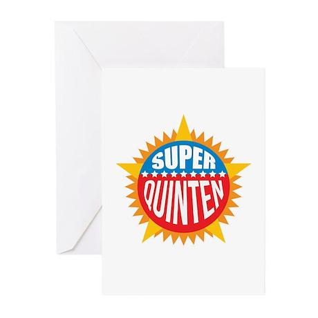 Super Quinten Greeting Cards (Pk of 20)