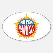 Super Randall Decal
