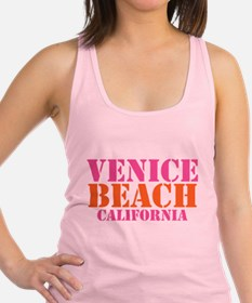 Venice Beach California Racerback Tank Top