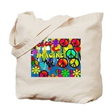 Peace ART HORIZONTAL Tote Bag
