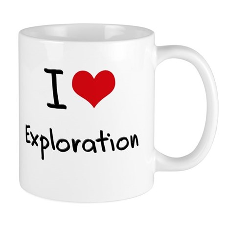 I Love Exploration Mug