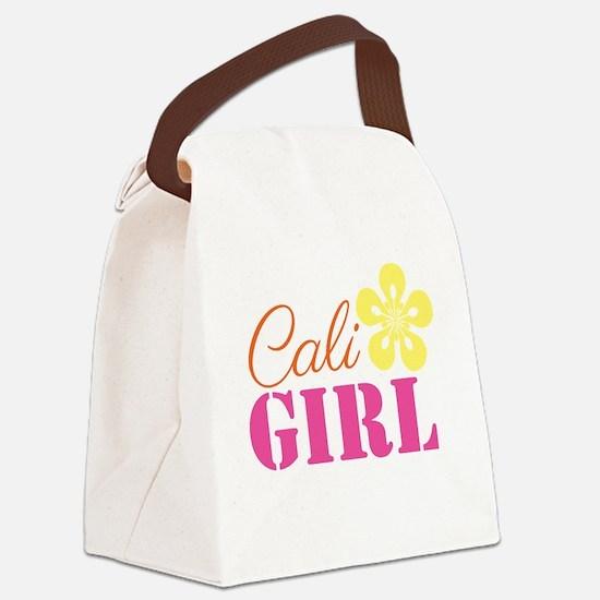 Cali Girl Canvas Lunch Bag