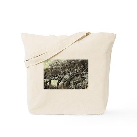 Gulf Oak Trees Tote Bag