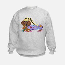 Dachshund Bedtime Sweatshirt