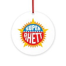 Super Rhett Ornament (Round)