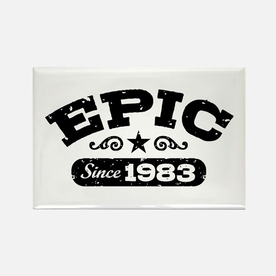 Epic Since 1983 Rectangle Magnet