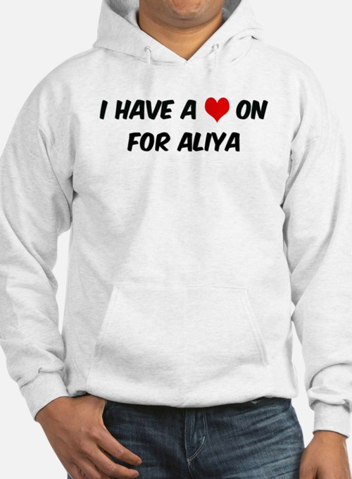 Heart on for Aliya Hoodie Sweatshirt