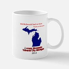 Occupy Monsanto Traverse City Michigan Mug