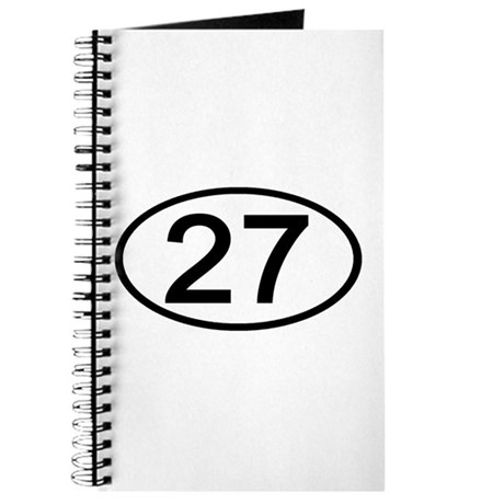Number 27 Oval Journal