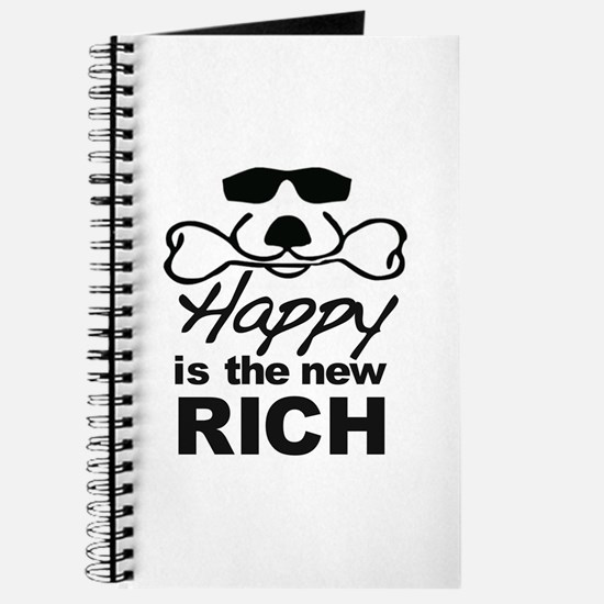 Happy Is The New Rich Journal