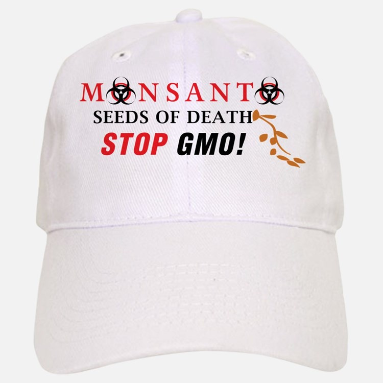 SEEDS OF DEATH STOP GMO Baseball Baseball Baseball Cap