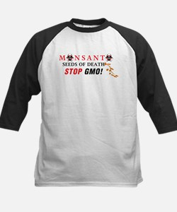 SEEDS OF DEATH STOP GMO Baseball Jersey