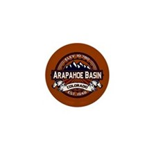 Arapahoe Basin Vibrant Mini Button