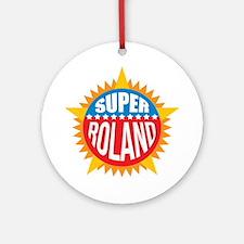 Super Roland Ornament (Round)