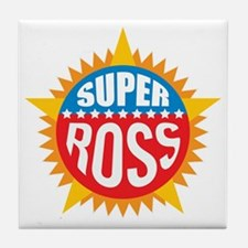 Super Ross Tile Coaster