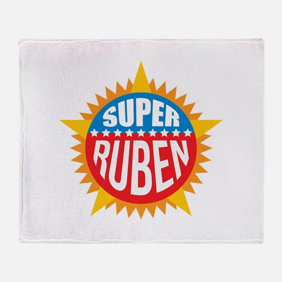 Super Ruben Throw Blanket