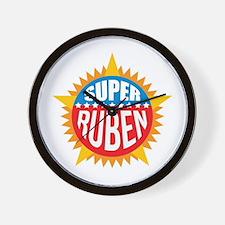 Super Ruben Wall Clock