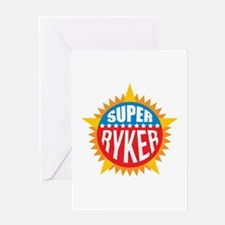 Super Ryker Greeting Card
