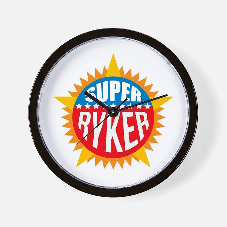 Super Ryker Wall Clock