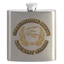 Communications Officer - Merchant Marine Flask