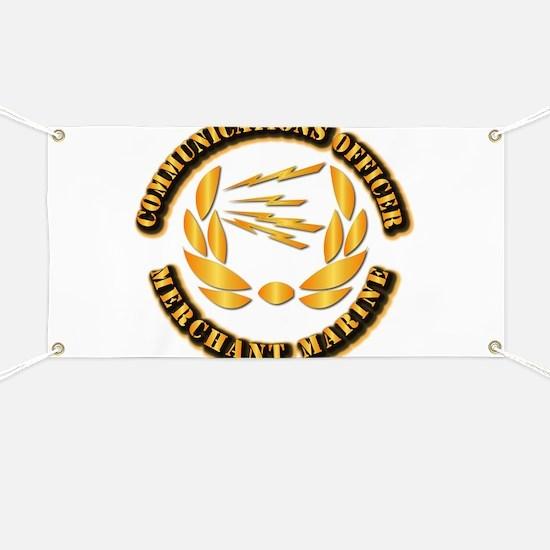 Communications Officer - Merchant Marine Banner