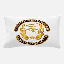 Communications Officer - Merchant Marine Pillow Ca