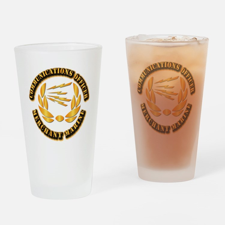 Communications Officer - Merchant Marine Drinking