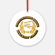 Communications Officer - Merchant Marine Ornament