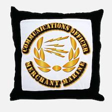 Communications Officer - Merchant Marine Throw Pil