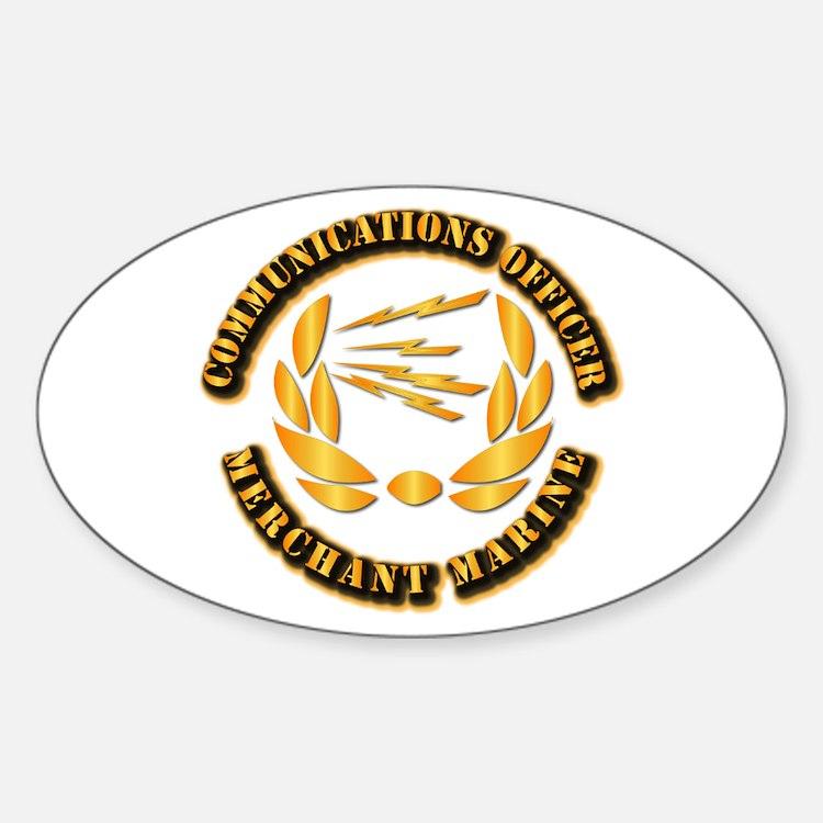 Communications Officer - Merchant Marine Decal