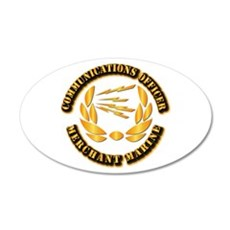 Communications Officer - Merchant Marine Wall Decal
