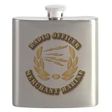 Radio Officer - Merchant Marine Flask