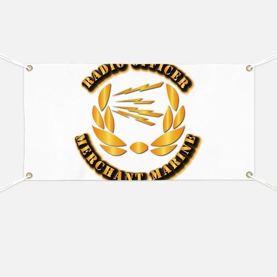 Radio Officer - Merchant Marine Banner