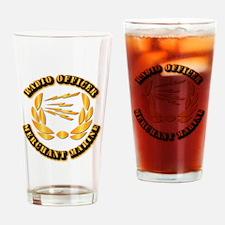 Radio Officer - Merchant Marine Drinking Glass