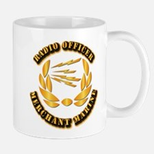 Radio Officer - Merchant Marine Mug