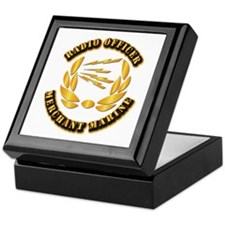 Radio Officer - Merchant Marine Keepsake Box