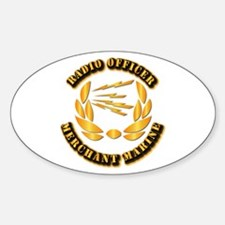 Radio Officer - Merchant Marine Decal