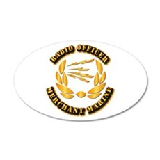 Radio Officer - Merchant Marine Wall Decal