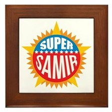 Super Samir Framed Tile