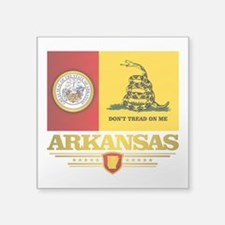Arkansas Gadsden Flag Sticker