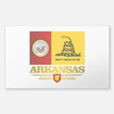 Arkansas Gadsden Flag Decal