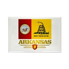 Arkansas Gadsden Flag Rectangle Magnet