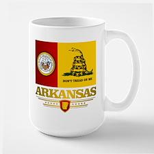 Arkansas Gadsden Flag Mug