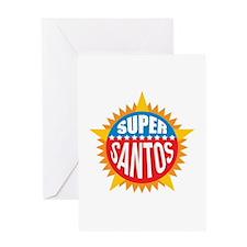Super Santos Greeting Card