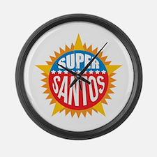 Super Santos Large Wall Clock