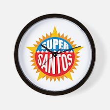 Super Santos Wall Clock