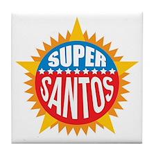 Super Santos Tile Coaster