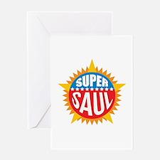 Super Saul Greeting Card